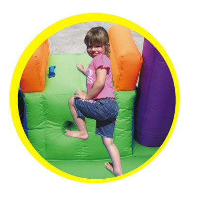 Gonfiabile Baloon - arrampicata